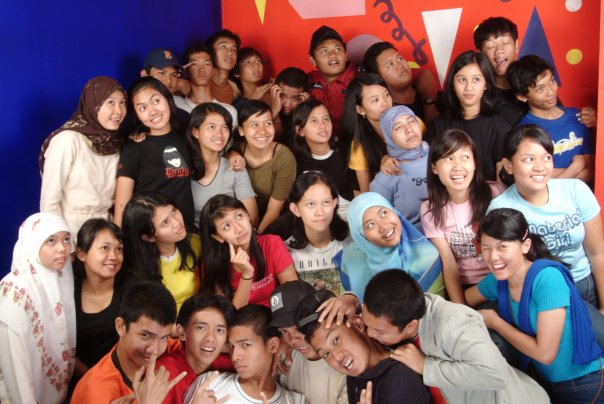masa muda… 2 SMU di KANcut 34 Jakarta