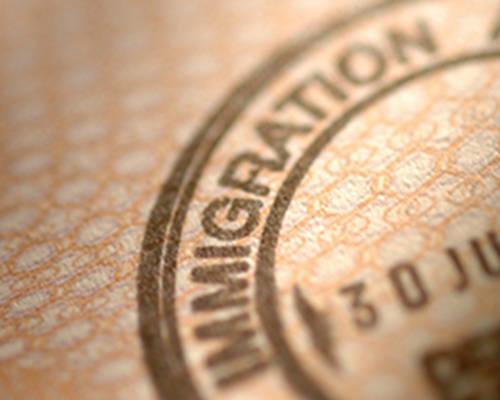 immigration stamp